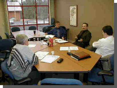 meeting with consultants